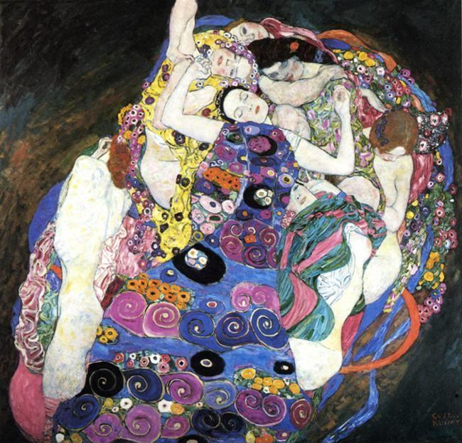 Gustav Klimt. The Virgin.