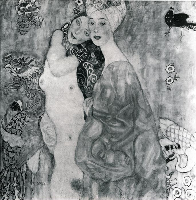 Gustav Klimt. Friends.