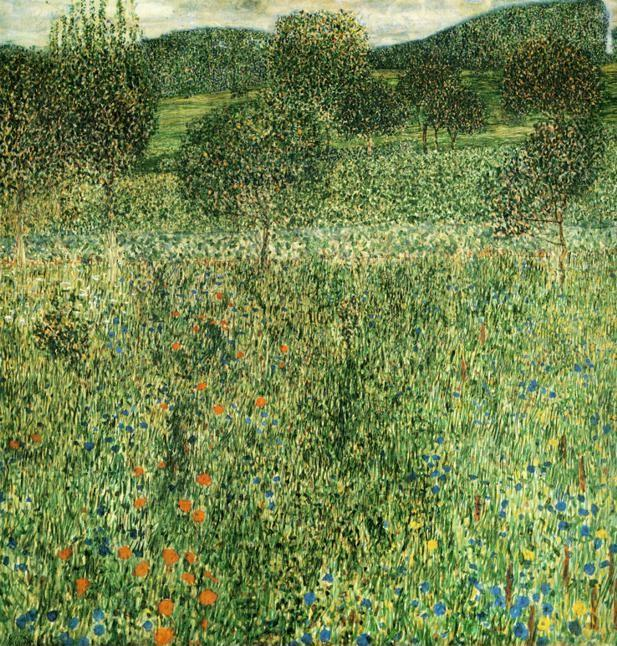 Gustav Klimt. Flowering Field.