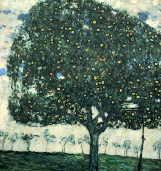 Gustav Klimt. Apple Tree II.