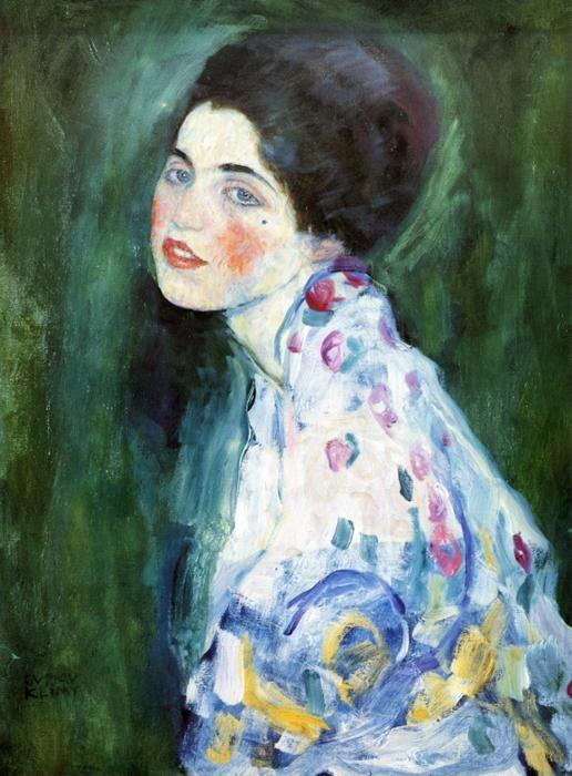 Gustav Klimt. Portrait of a Lady.