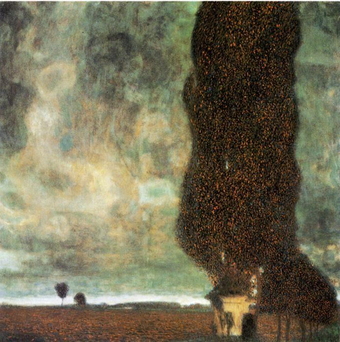 Gustav Klimt. The Big Poplar II.