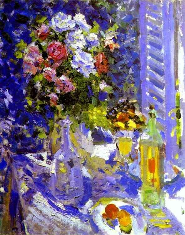 Constantin Korovin. Flowers and Fruit.