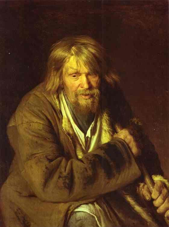 Ivan Kramskoy. Portrait of an Old Peasant.