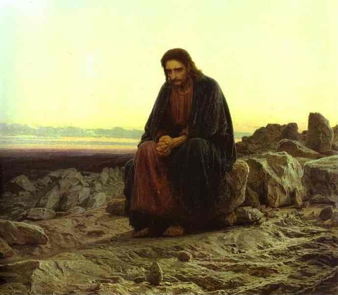 Ivan Kramskoy. Christ in the Desert.