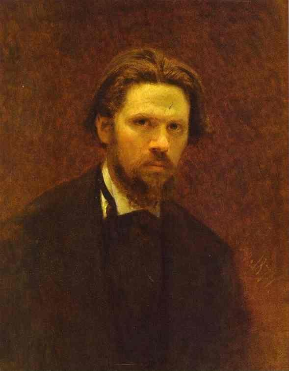 Ivan kramskoy self portrait