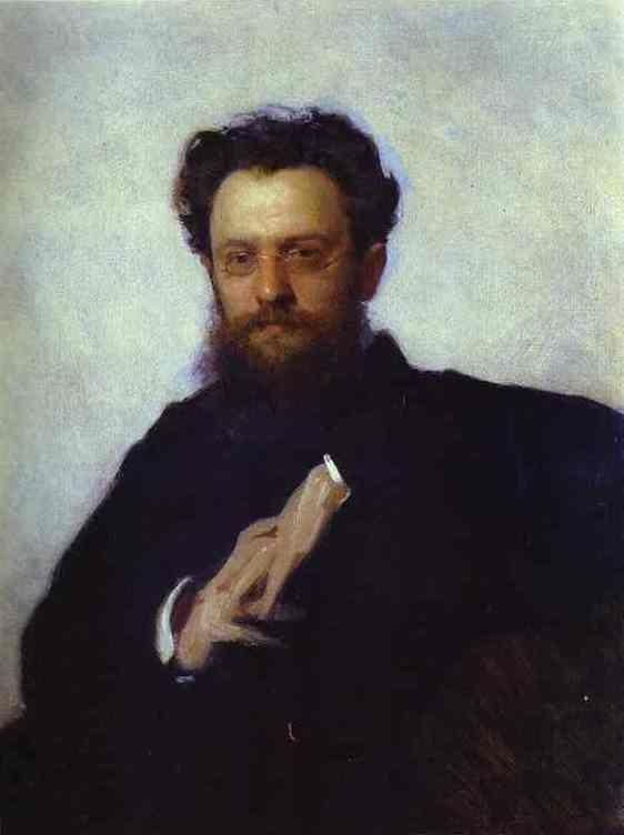 Ivan Kramskoy. Portrait of Adrian Prakhov, Art Critic and Historian.
