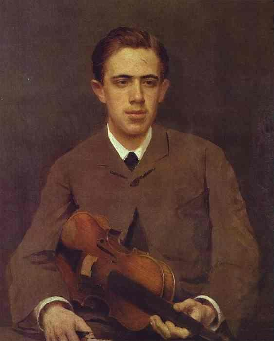 Ivan Kramskoy. Portrait of Nikolay Kramskoy, the Artist's Son.