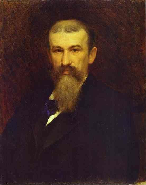 Ivan Kramskoy. Portrait of the Artist Alexander Sokolov.