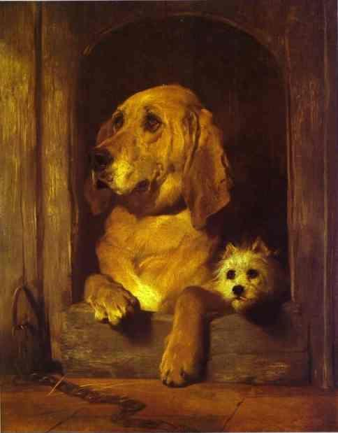 Sir Edwin Landseer. Dignity and Impudence.