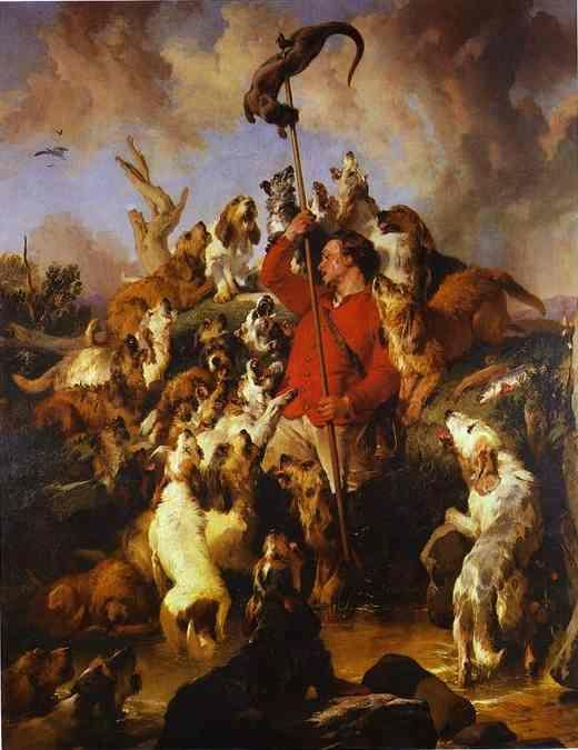 Sir Edwin Landseer. The Otter Hunt.