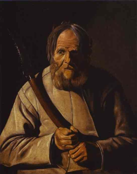 Georges de La Tour. St. Simon.