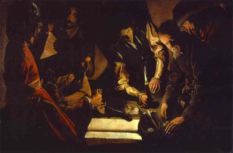 Georges de La Tour. Money Paid.