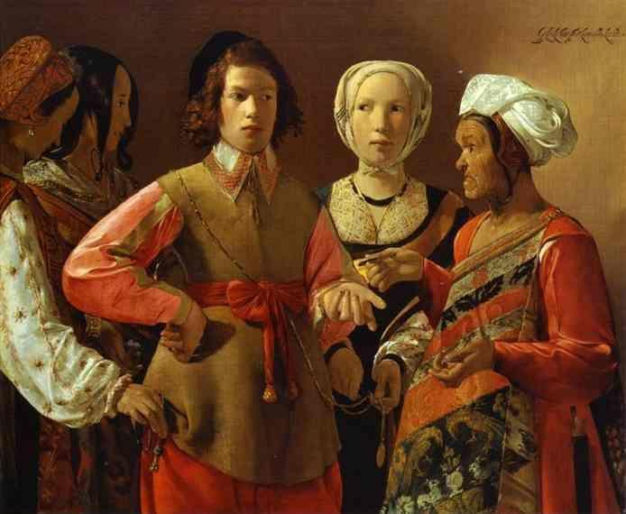 Georges de La Tour. The Fortune-Teller.
