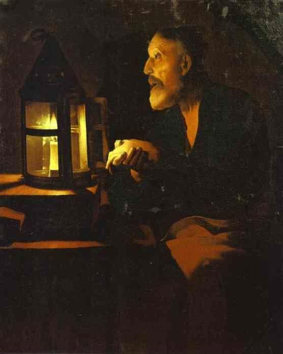 Georges de La Tour. Tears of St. Peter.