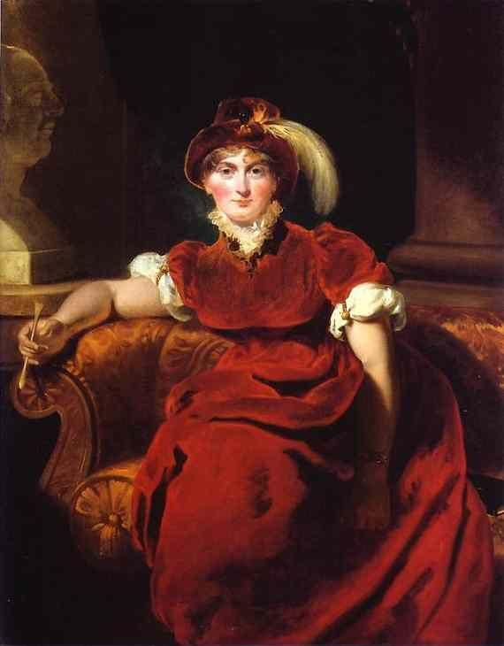 Sir Thomas Lawrence. Caroline Amelia Elizabeth of Brunswick.