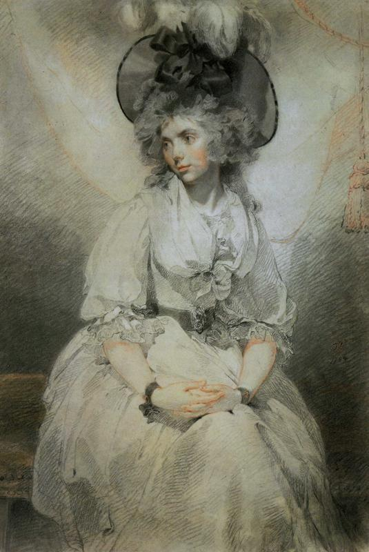 Sir Thomas Lawrence. Mrs Mary Hamilton.