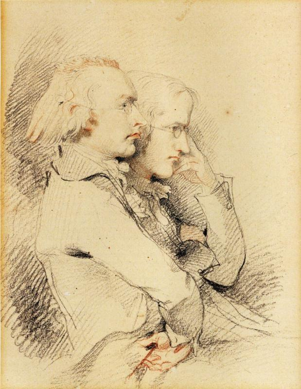 Sir Thomas Lawrence. William Godwin and Thomas Holcroft.