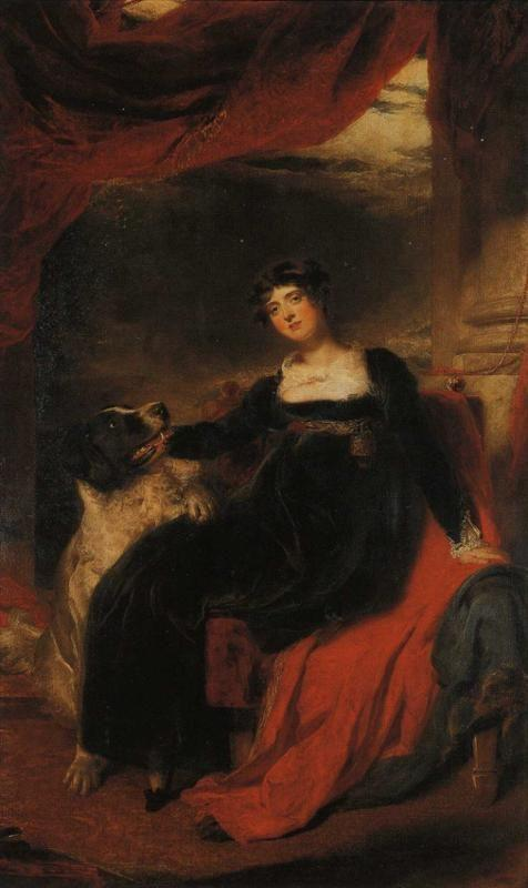 Sir Thomas Lawrence. Mrs George Stratton.