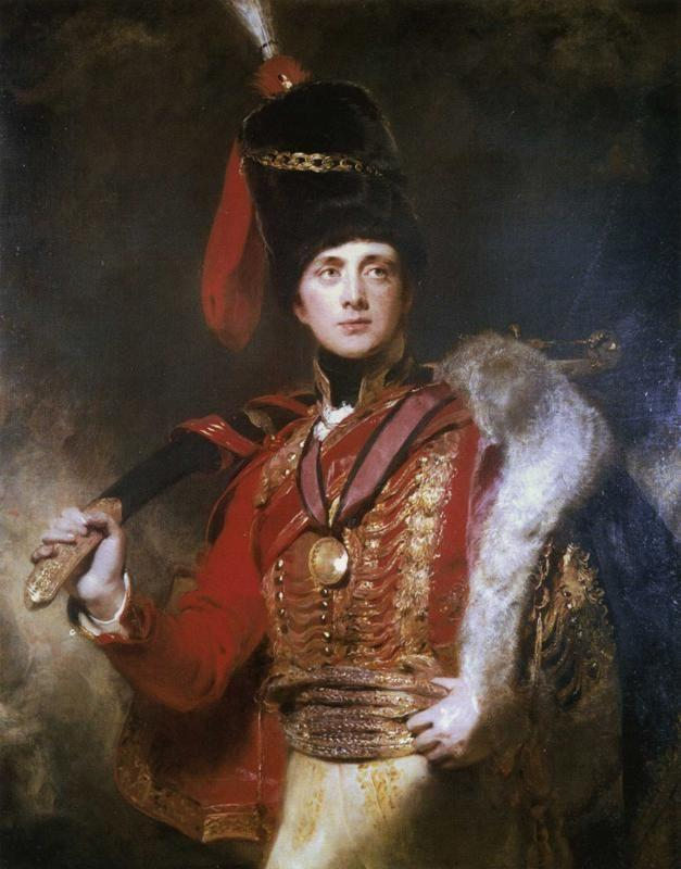 Sir Thomas Lawrence. Lieutenant-General The Hon. Sir Charles Stewart, later 3rd Marquess of Londonderry.
