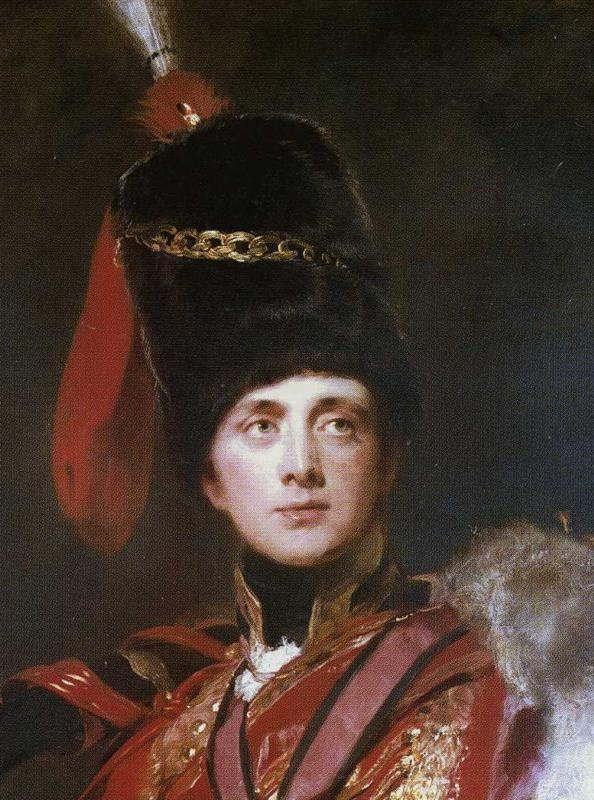 Sir Thomas Lawrence. Lieutenant-General The Hon. Sir Charles Stewart, later 3rd Marquess of Londonderry. Detail.