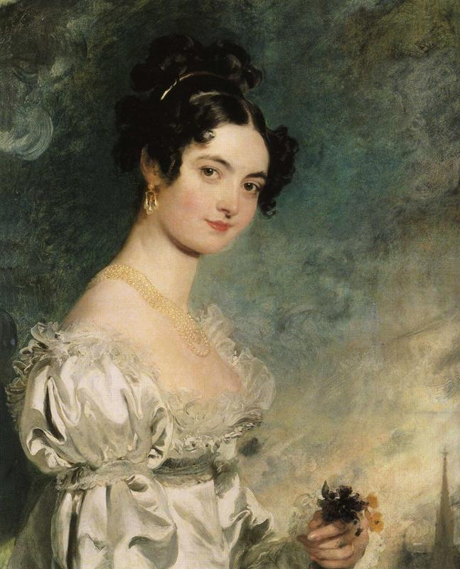 Sir Thomas Lawrence. Lady Selina Meade.
