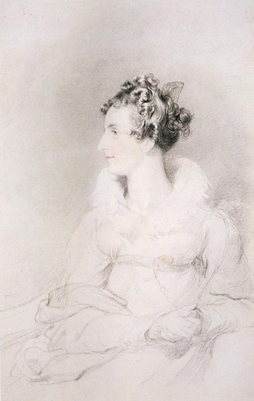 Sir Thomas Lawrence. Countess Rosalie Rzewuska.