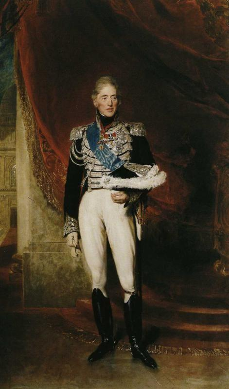Sir Thomas Lawrence. King Charles X of France.