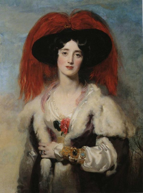 Sir Thomas Lawrence. Mrs. Robert, Later Lady Peel.
