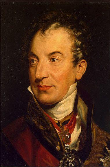 Sir Thomas Lawrence. Clemens Lothar Wenzel, Prince Metternich (1773-1859).
