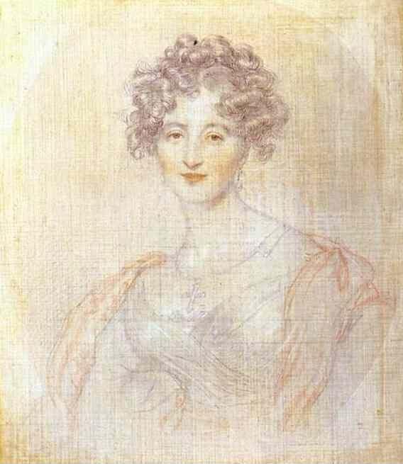 Sir Thomas Lawrence. Study for the Portrait of Countess E. K. Vorontsova.