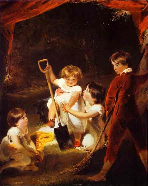 Sir Thomas Lawrence. The Angerstein Children.