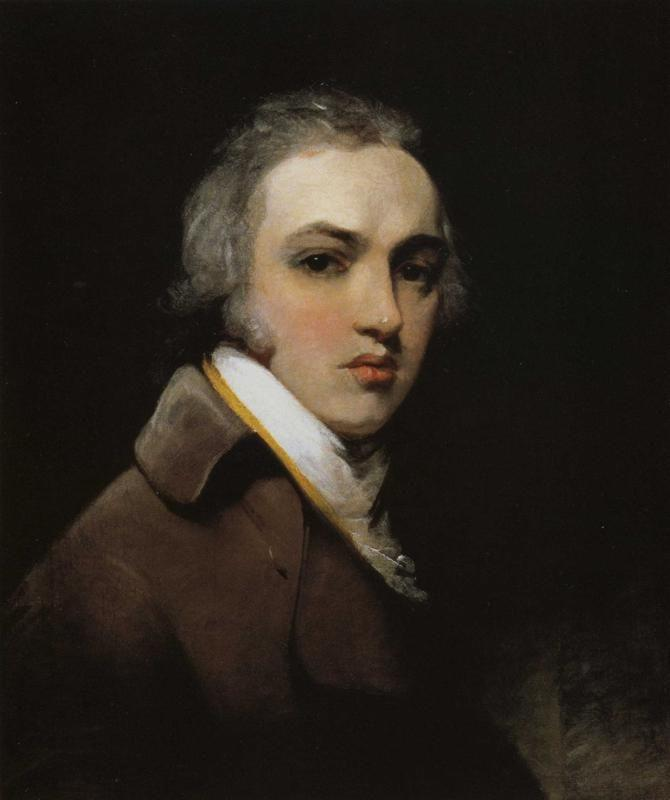 Sir Thomas Lawrence. Self Portrait as a Young Man.
