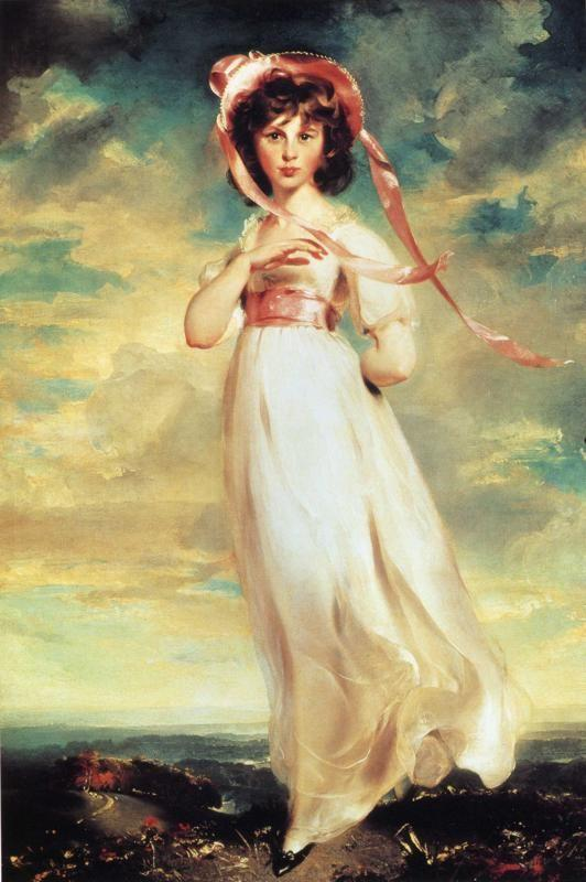 Sir Thomas Lawrence. Sarah Barrett Moulton ('Pinkie') (1783-95).