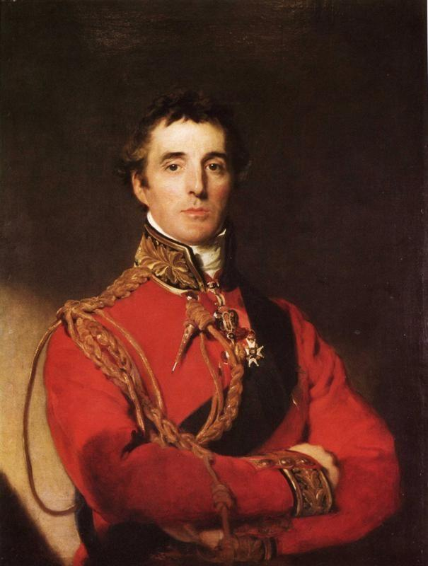 Sir Thomas Lawrence. Portrait of Arthur Wellesley, 1st Duke of Wellington (1769-1852).