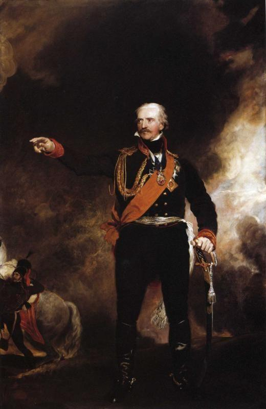 Sir Thomas Lawrence. Field-Marshal Gebhardt von Blücher (1742-1819).