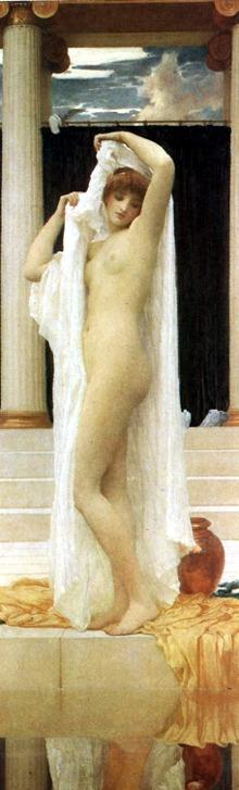 Frederick Leighton. The Bath of Psyche.