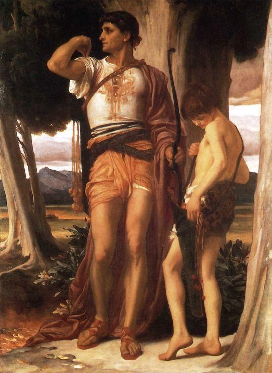 Frederick Leighton. Jonathan's Token to David.