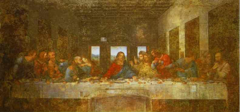 an essay on the two works of leonardo da vinci mona lisa and the last supper An essay about leonardo da vinci explore explore scribd  leonardo da vinci research paper  aside from the last supper and mona lisa, it is true that leonardo .