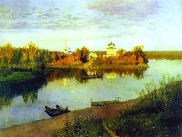 Isaac Levitan. Evening Bells.