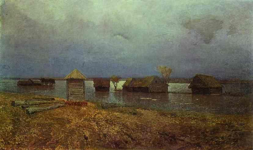Isaac Levitan. High Waters.