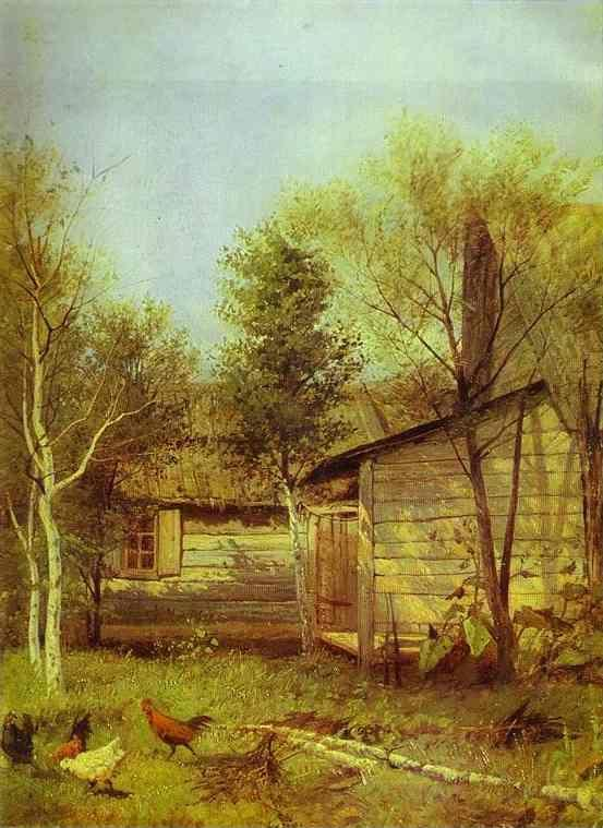 Isaac Levitan. Sunny Day. Spring.