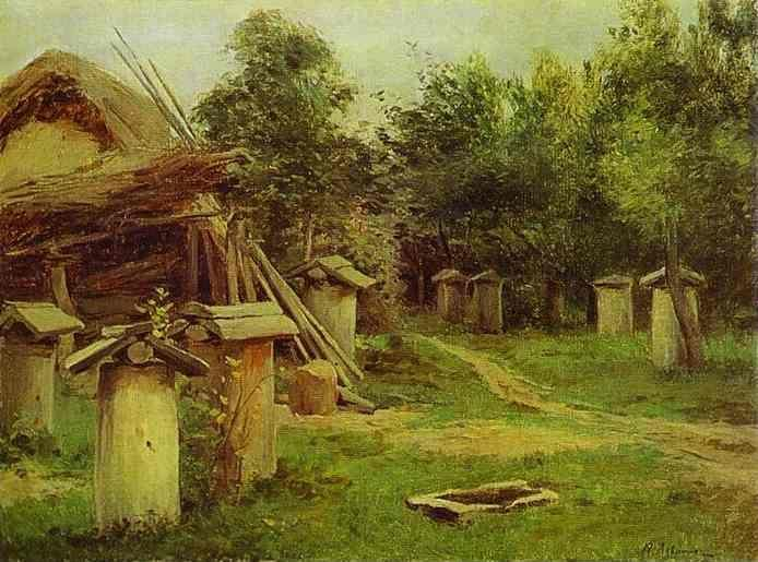 Isaac Levitan. The Apiary.