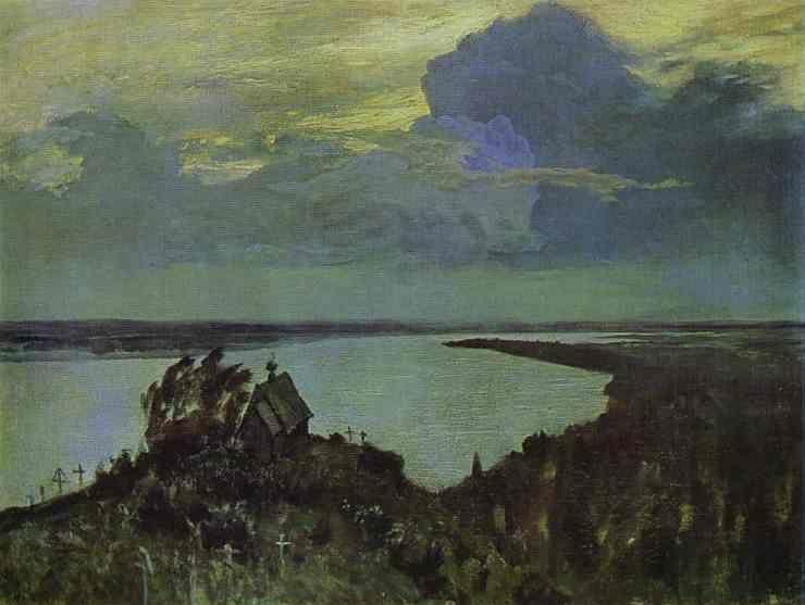 Isaac Levitan. Above Eternal Peace.