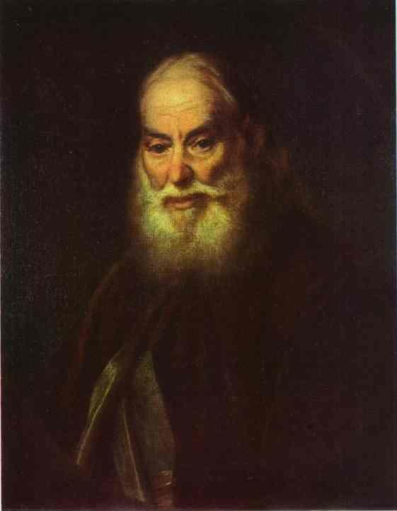 Dmitry Levitzky. Portrait of G. K. Levitzky, Artist's Father.