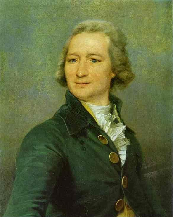 Dmitry Levitzky. Portrait of I. I. Dmitriyev.