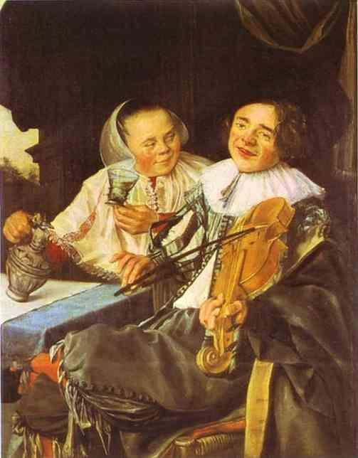 Judith Leyster. Carousing Couple.