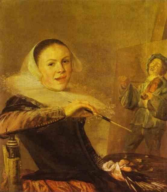 Judith Leyster. Self-Portrait.