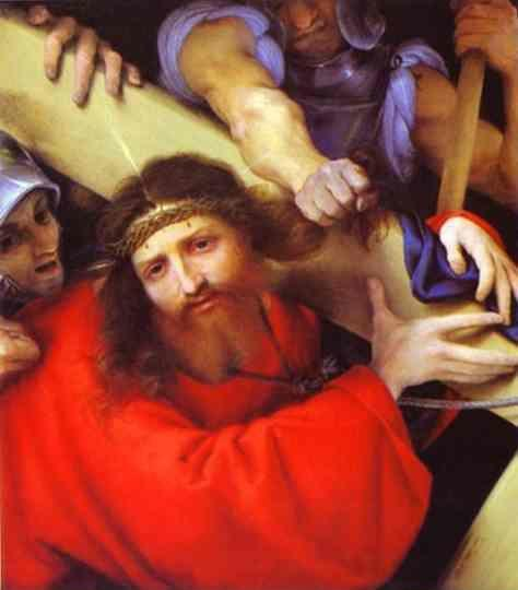 Lorenzo Lotto. The Carrying of the Cross.