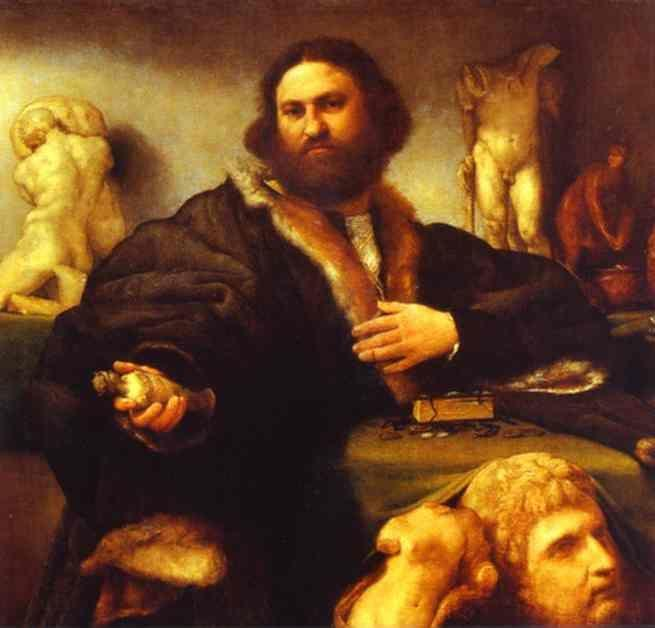 Lorenzo Lotto. Portrait of Andrea Odoni.
